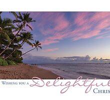 Pink Dusk - Lahaina, Maui, Hawaii by Lisa Frost