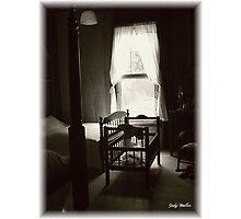 Old Cracker Crib Photographic Print