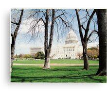 The U.S. Capital Canvas Print