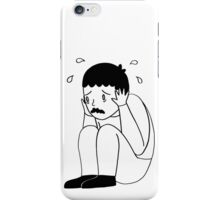 I'm Freaking Out - Black & White iPhone Case/Skin