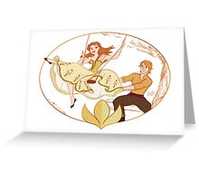 Disney's Frozen - Anna and Kristoff - The Swing Greeting Card