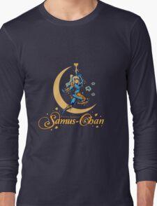 Pretty Soldier Samus Long Sleeve T-Shirt