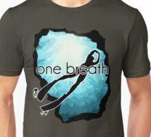 One breath: Freediving Unisex T-Shirt