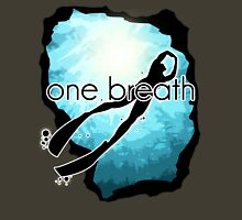 One breath: Freediving Unisex T-Shirt