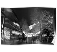 Southbank & Jeff's shed BW Poster