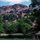 Rydal Water Lake District England 198405200017 by Fred Mitchell