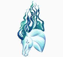 Marbled Water Horse Portrait Unisex T-Shirt