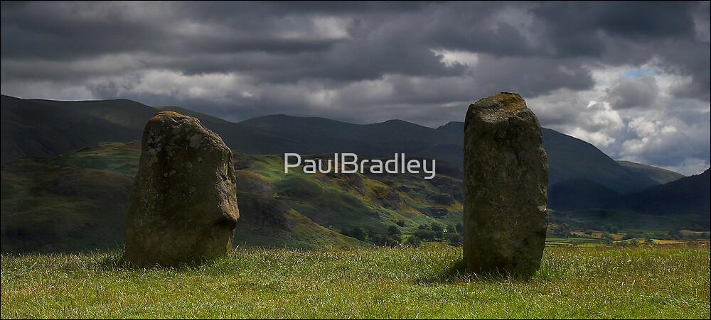 Castlerigg - light on distant fells by PaulBradley