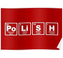 Polish - Periodic Table Poster