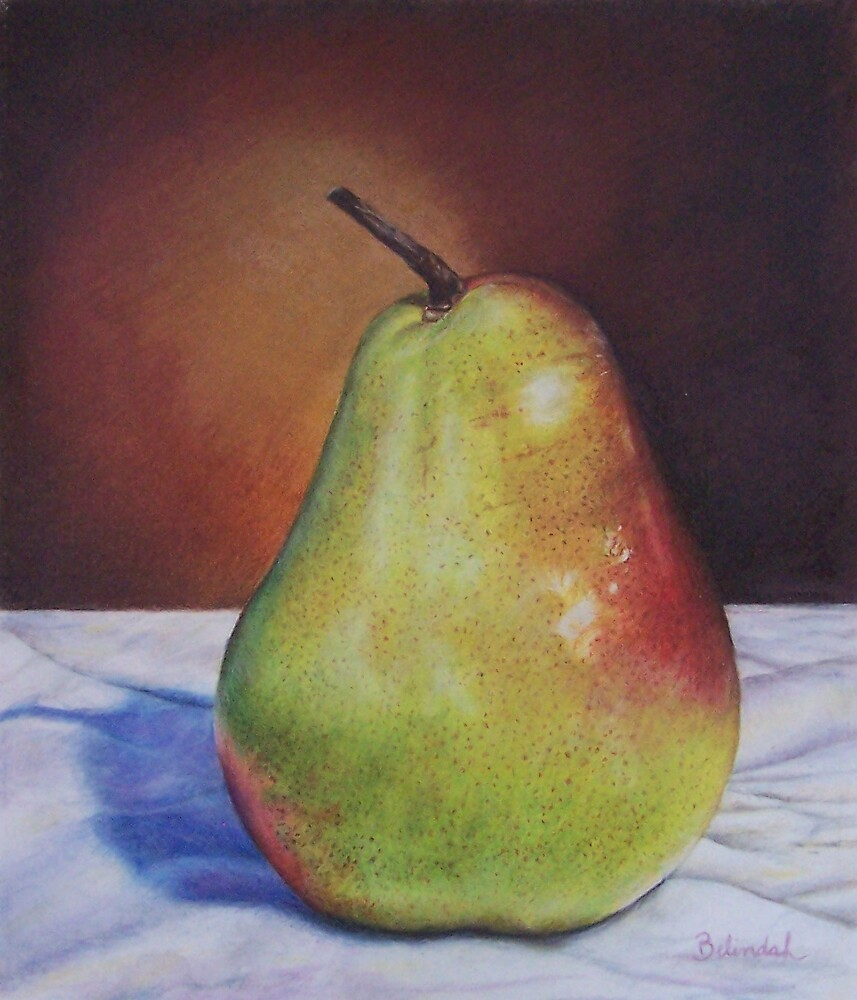Lonely Pear by Belinda Lindhardt