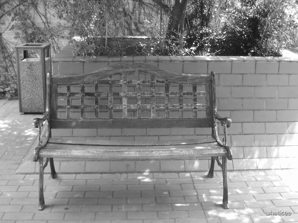Bench by whatisee