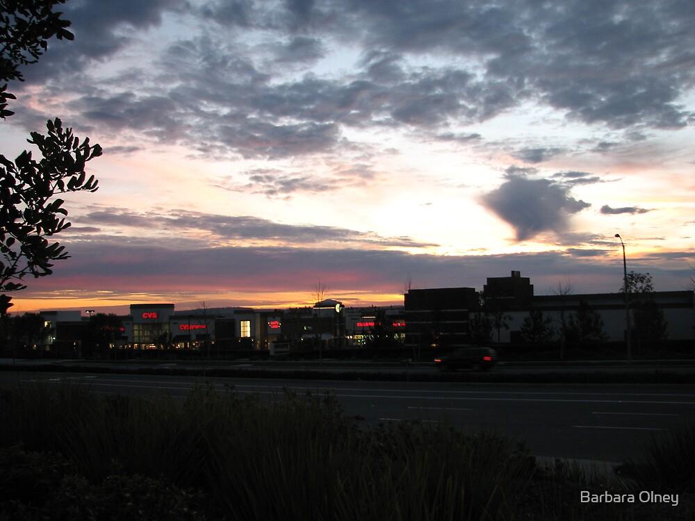 Sunset Ladera Ranch California by Barbara Olney