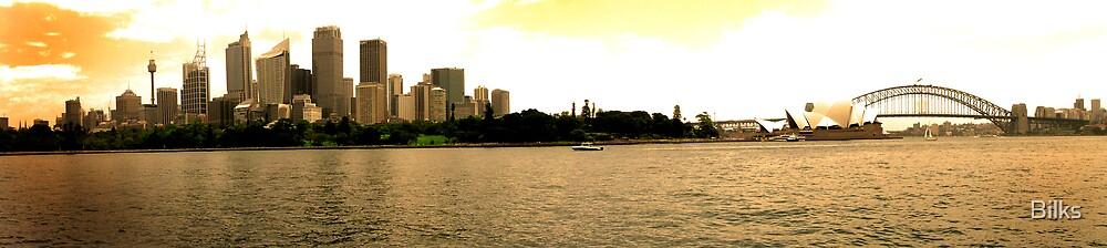 Golden Sydney by Bilks
