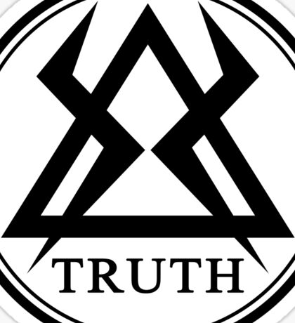 DOCTOR WHO - TRUTH Sticker