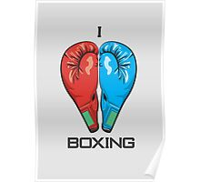I Love Boxing Poster