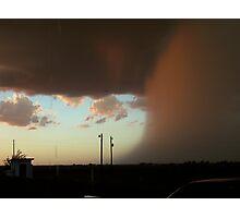 Angry Rains Photographic Print