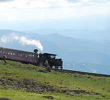 Cog Railway Mt. Washington by Sephro