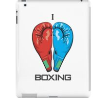 I Love Boxing iPad Case/Skin