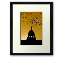 HOLY SUNRISE (BELIEF) Framed Print