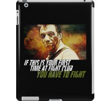 New & Improved BSG Fight Club! iPad Case/Skin