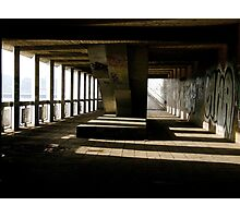 URBAN UNDERPASS Photographic Print