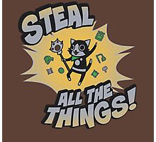 Steal All the Things Photographic Print