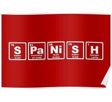 Spanish - Periodic Table Poster