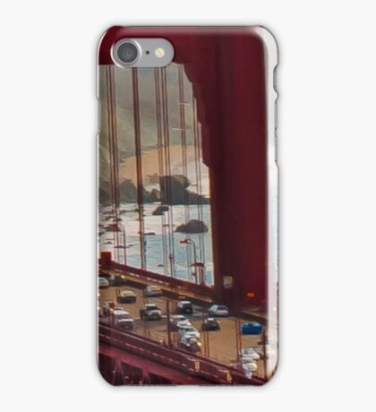 Aerial Golden Gate Bridge  iPhone Case/Skin