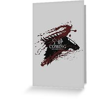 Serenity Is Coming Greeting Card