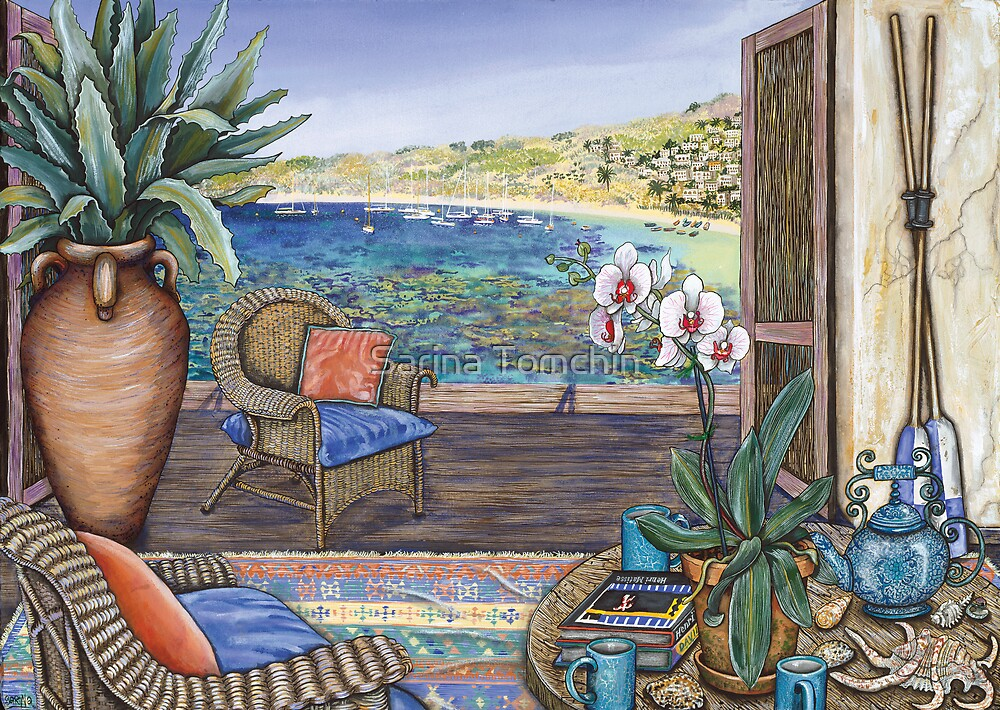 Villino Fira by Sarina Tomchin