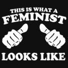 This is what a Feminist Looks like by goodtogotees