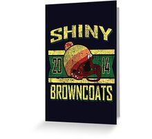 Shiny Browncoats 2014 V1 Greeting Card