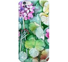 My Geraniums iPhone Case/Skin