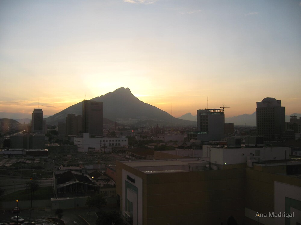 Monterrey, Mexico by Ana Madrigal