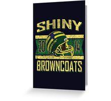 Shiny Browncoats 2014 V2 Greeting Card