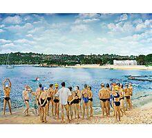 The Swimming Club Photographic Print