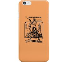 Dirty Guns With Guns iPhone Case/Skin