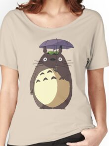 My Neighbour Totoro - Umbrella Totoro Women's Relaxed Fit T-Shirt