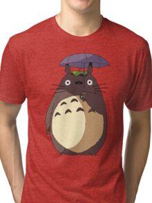 My Neighbour Totoro - Umbrella Totoro Tri-blend T-Shirt