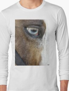 Blue Eyed Long Sleeve T-Shirt