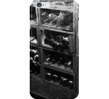Dusty Old Bottles BW iPhone Case/Skin