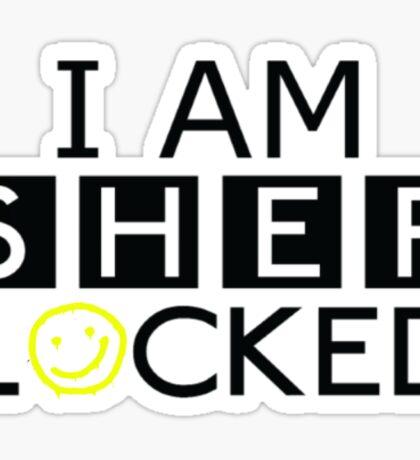 Hyjacked 'I AM SHERLOCKED' Sticker