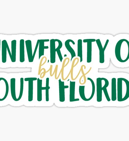 University of South Florida - Bulls Sticker