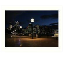 Sydney from the Opera House Art Print