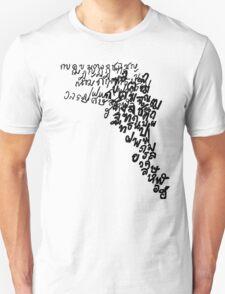 LINEart T-shirt : Thai Alphabet  T-Shirt