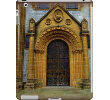 Buckfast Abbey Entrance iPad Case/Skin