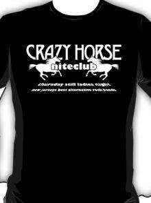 Crazy Horse (White Print) T-Shirt