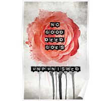 No Good Deed Goes Unpunished Poster