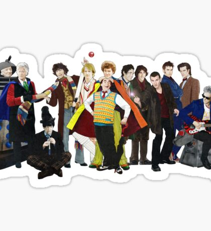 Doctor Who - The 13 Doctors II (lineup) Sticker