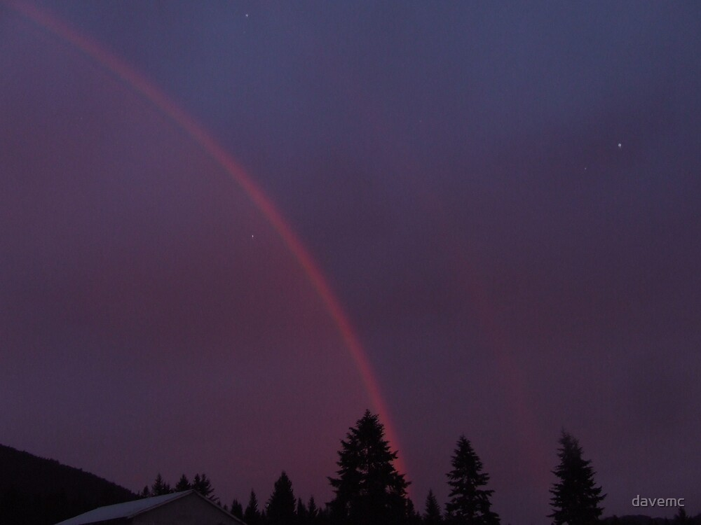 rainbow at the ranch by davemc